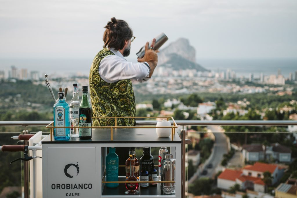 Juan en La Azotea de Orobianco